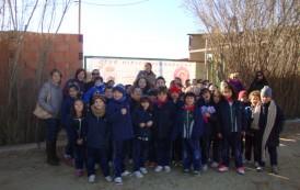 Los alumn@s de 1º visitan una granja
