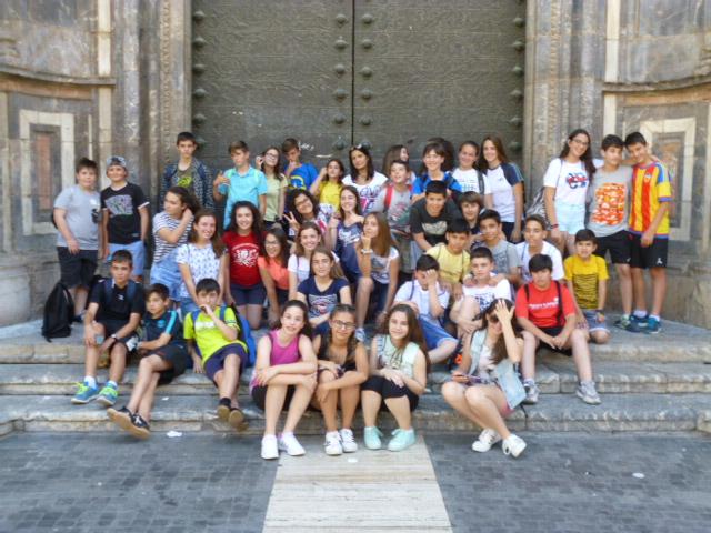 1º E.S.O Visita el Museo de la Ciencia y el agua en Murcia