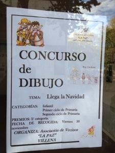 Concurso de dibujo Asoc.Vecinos La Paz