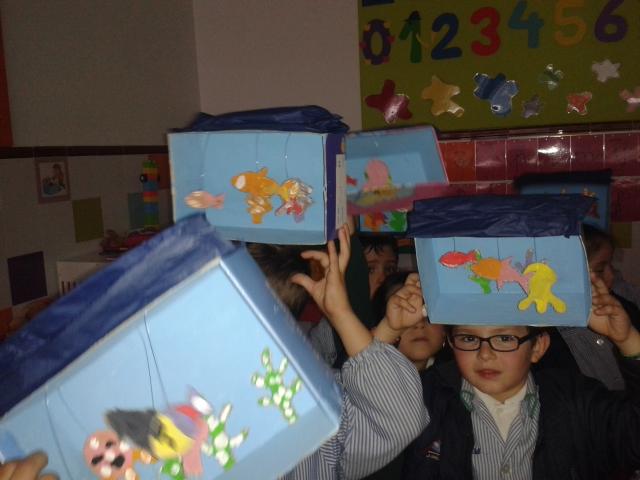 Creamos un acuario con nuestras manos