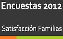 Encuestas 2012. Satisfacción Familias.