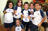 Los alumnos de 4º participan en un taller muy dulce.