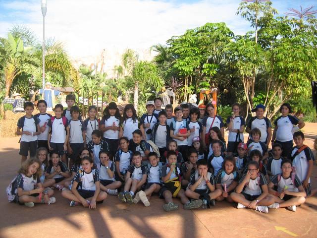 Los alumnos de 5º visitan Terra Natura