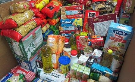 Campaña recogida alimentos, productos de limpieza y aseo