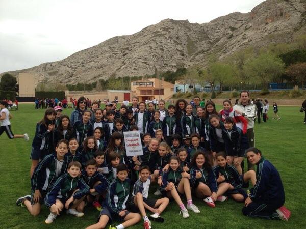 Olimpiadas escolares de los alumnos de 6º de Primaria