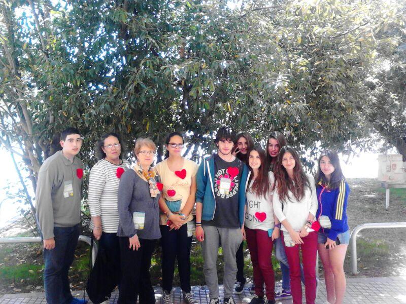 Encuentro de jóvenes con el Obispo