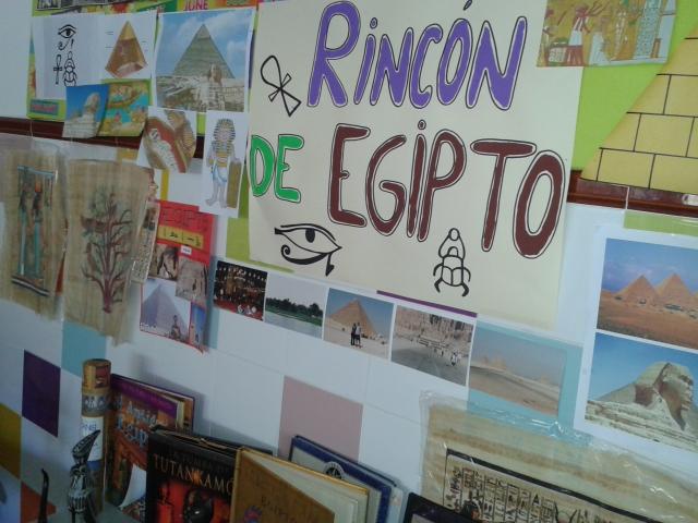 Egipto en el aula