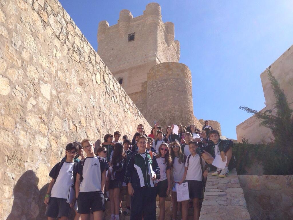 6° de Primaria visita el casco histórico de Villena