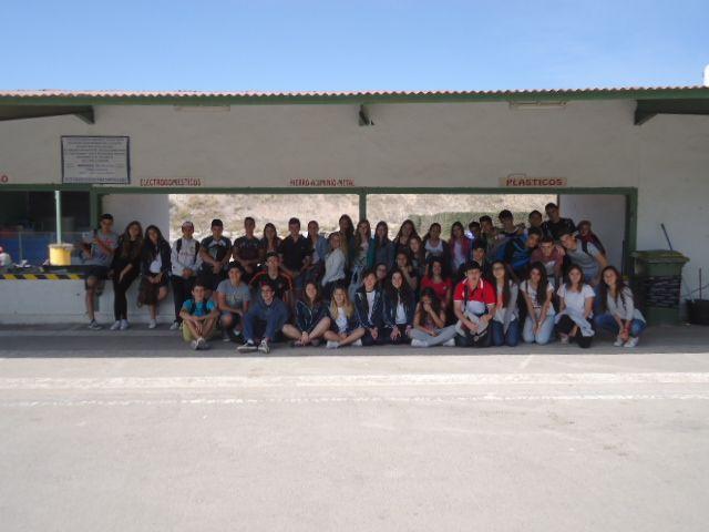 Los alumnos de 3º ESO visitan Reciclados del Mediterráneo y la depuradora municipal