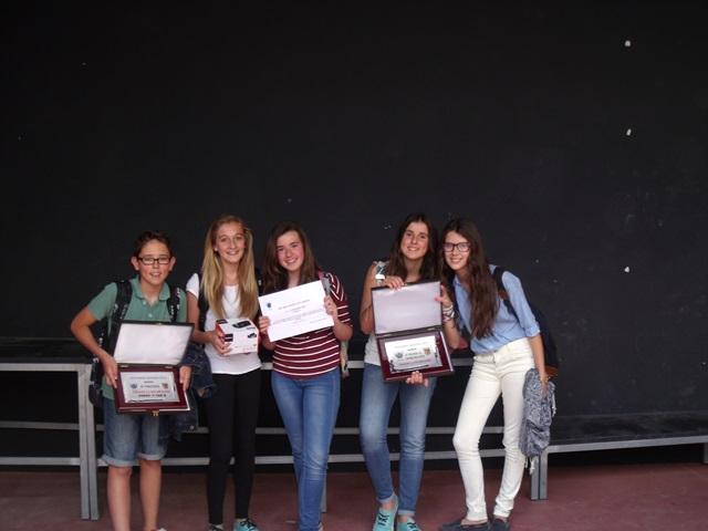 Los alumnos de 1º E.S.O. ganan el segundo premio en el concurso de Muros.
