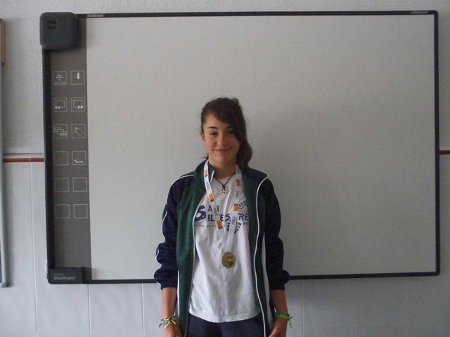 Marta Navarro Muñoz: campeona provincial en frontenis