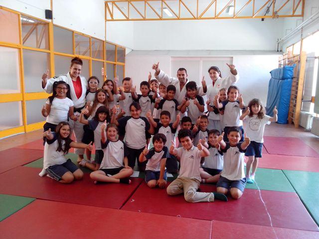 Sara Conejero nos da unas clases de Judo