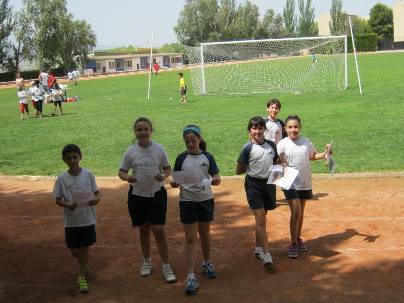 4º de Primaria participa en las Olimpiadas escolares