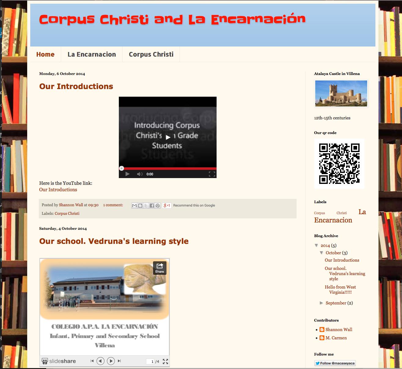 Corpus Christi and La Encarnación