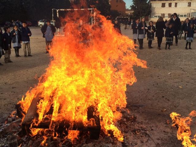 Celebración de San Antón en el colegio