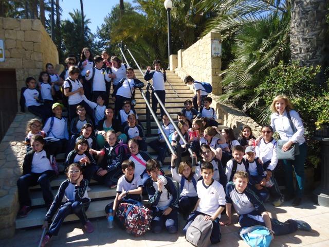 4º de primaria visita el Museo ARQUEOLÓGICO de Alicante