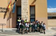 Visita a la Policía local de Villena