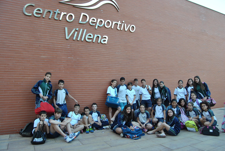 Los alumnos de 6ºA visitamos el Centro Deportivo de Villena