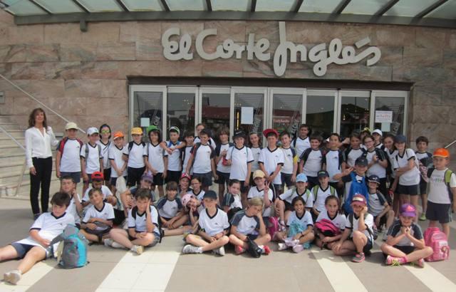 Los alumnos de 3º de primaria de excursión en ELCHE