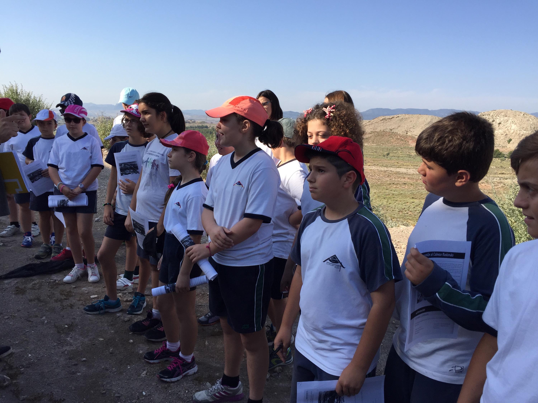 Los alumnos de 5º visitamos el Cabezo Redondo