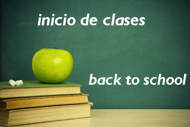 Inicio de clases infantil, primaria y Secundaria