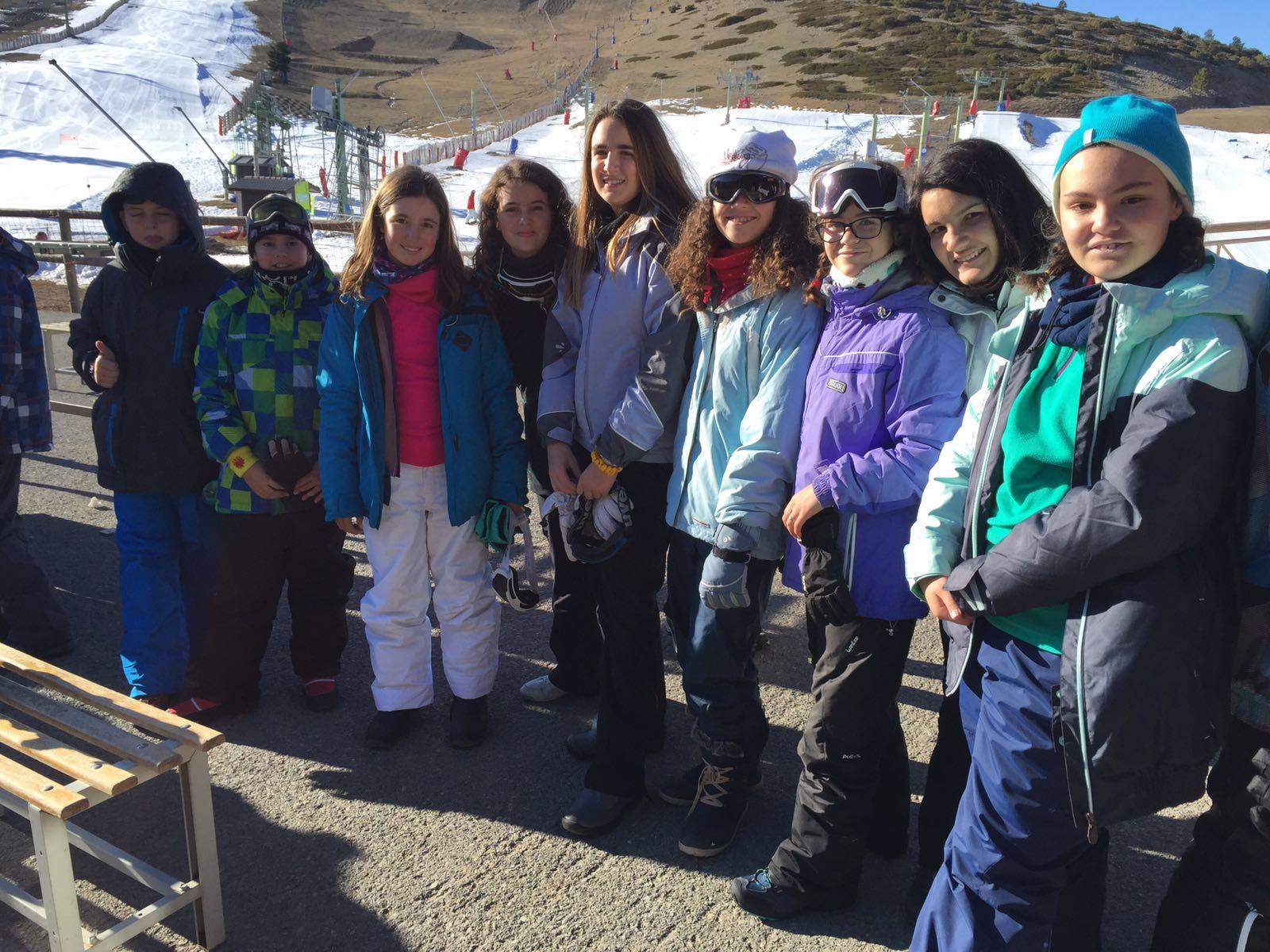 Viaje a la nieve 6º Primaria, Colegio La Encarnación.