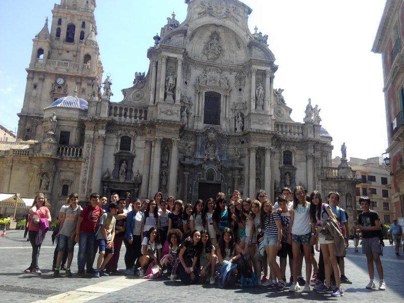 Los alumnos de 1º ESO visitan Murcia