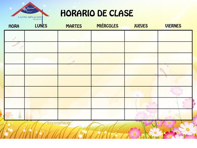 Horario de junio para Infantil y Primaria