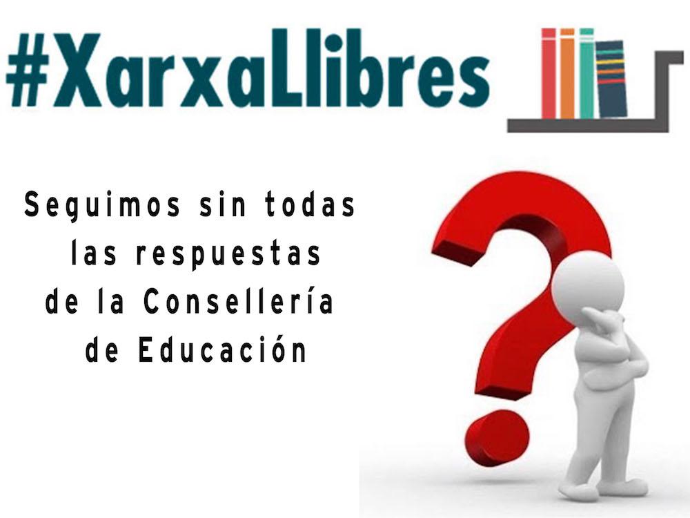 XARXA LLIBRES y Banco de Libros, algunas respuestas