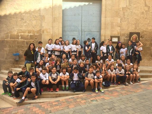 4º de Primaria visita Las Cuevas del Canelobre.