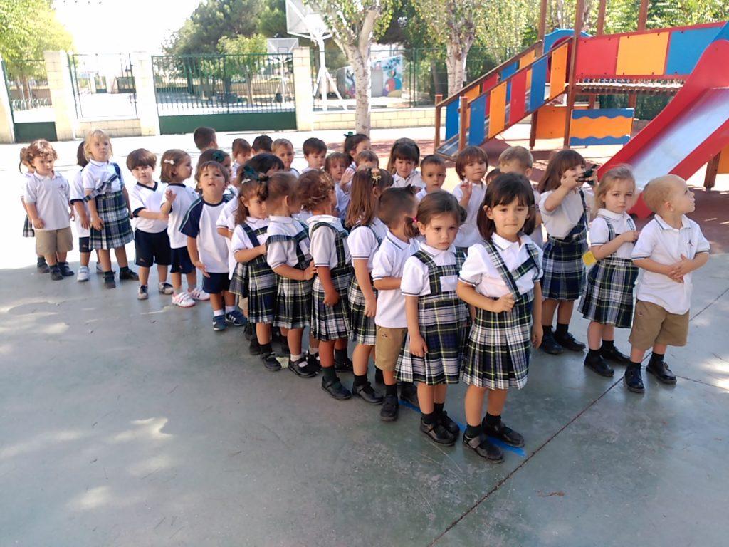 Los nuevos alumnos/as de 3 años