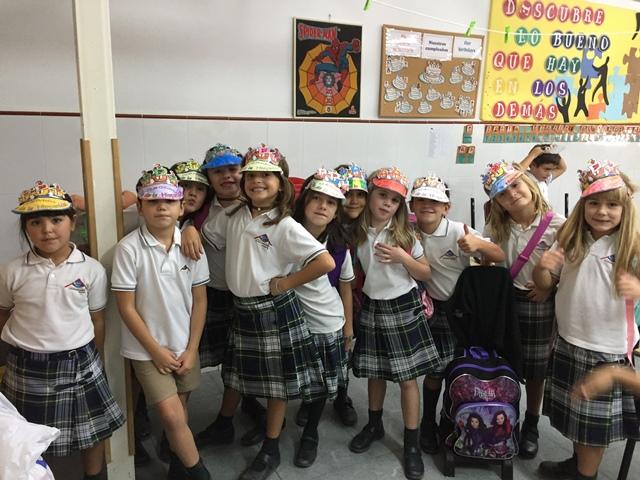Los alumnos/as de Primaria celebran el Día de la Hispanidad.