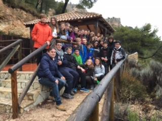 Excursión de 3ºESO a Xorret de Catí