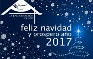 Feliz navidad y prospero año 2017