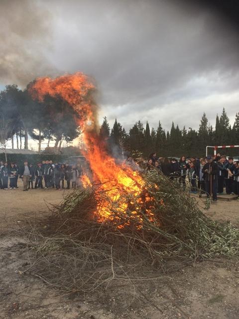 Hasta San Antón Pascuas son.