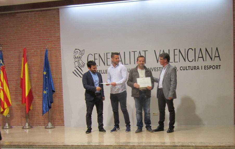 El CC Apa La Encarnación reconocido por Consellería como centro promotor de la actividad física y deporte.