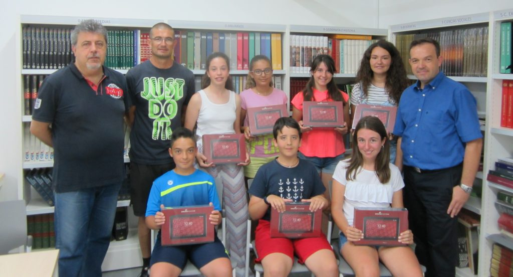 Alumnos de 1º E.S.O. Ganadores del Concurso Nacional