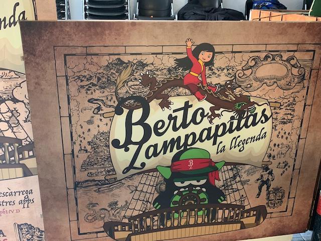Berto Zampapilas, La Leyenda